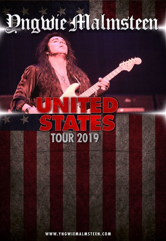 Yngwie Malmsteen The Ridgefield Playhouse