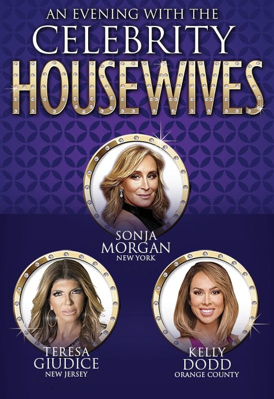 An Evening with the Celebrity Housewives | The Ridgefield Playhouse