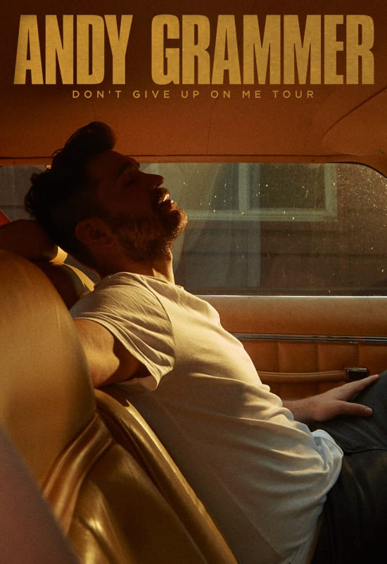 Andy Grammer Tour 2020 Andy Grammer   Don't Give Up on Me Tour | The Ridgefield Playhouse